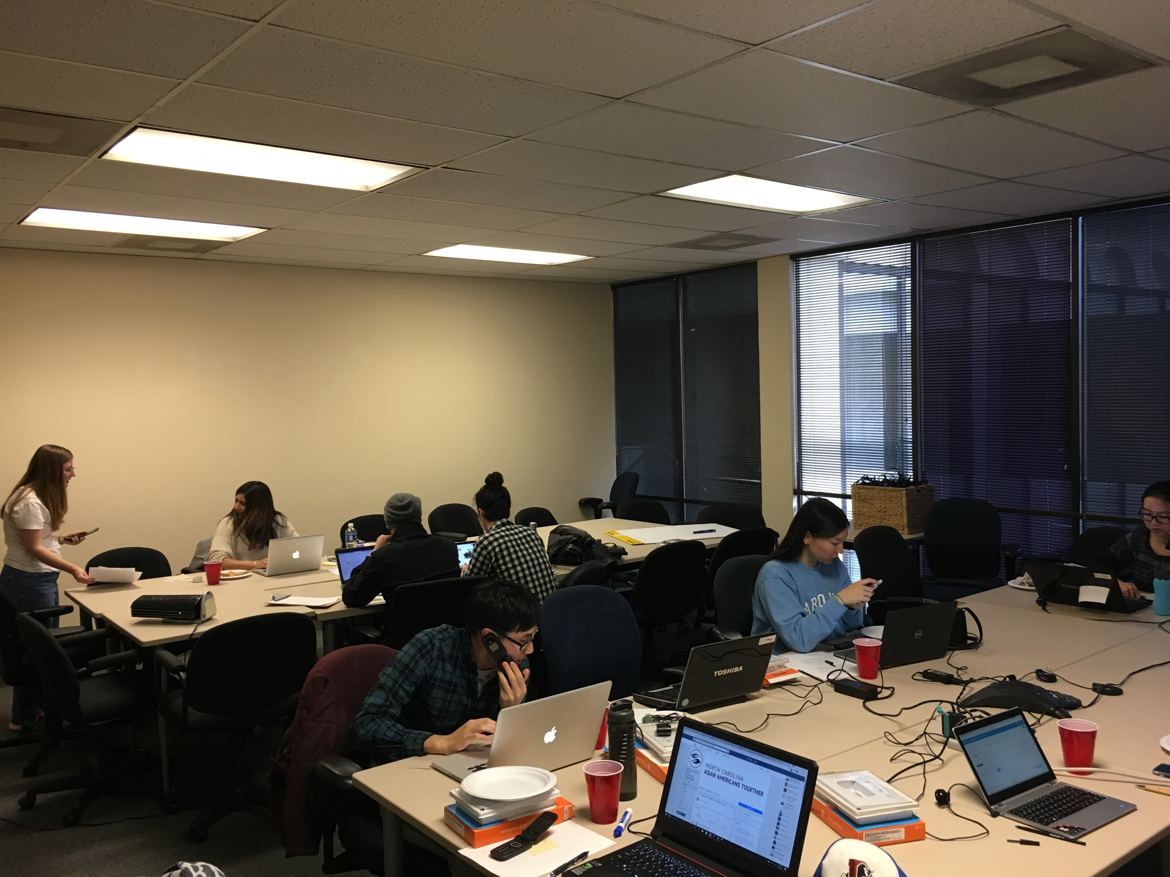 Phone Banking, October 2016