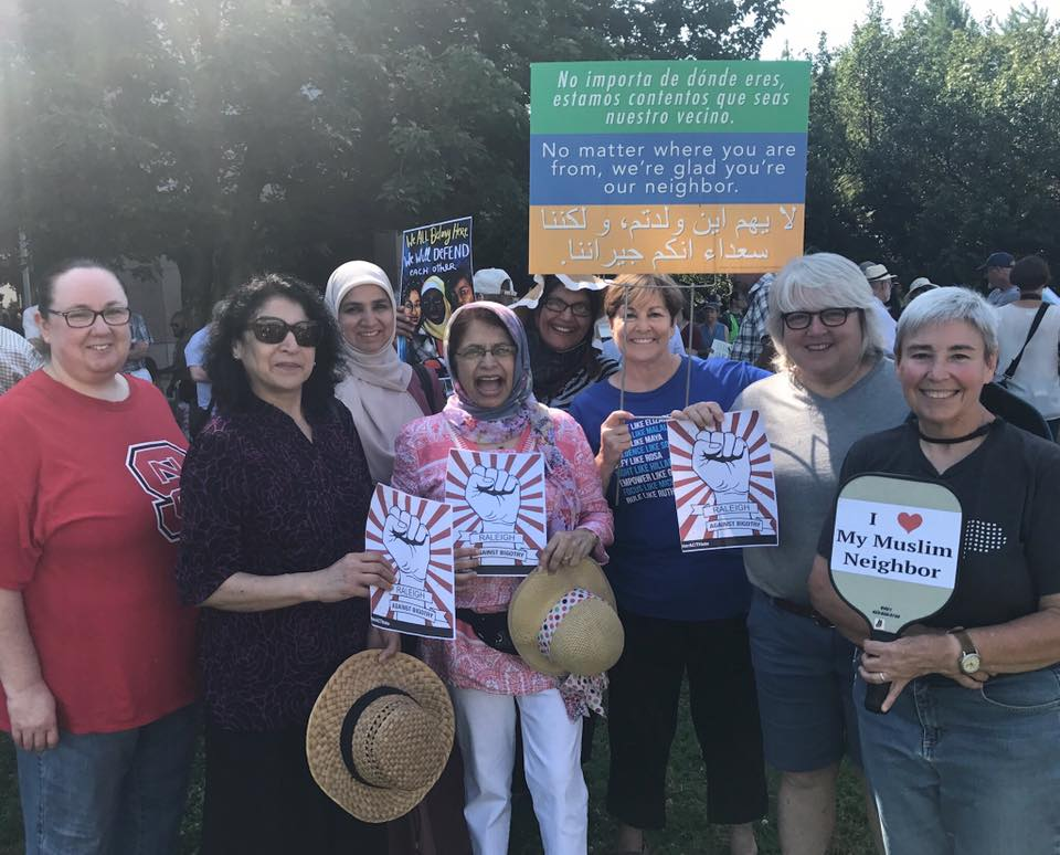 United Against Islamophia and Racism Rally, June 2017